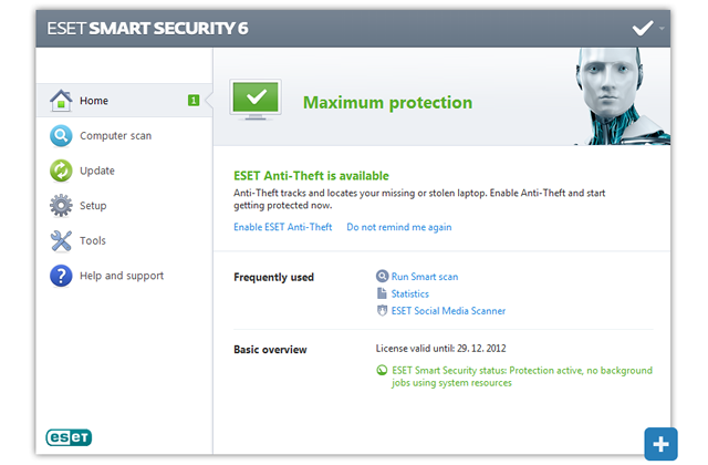 how to open eset secure browser